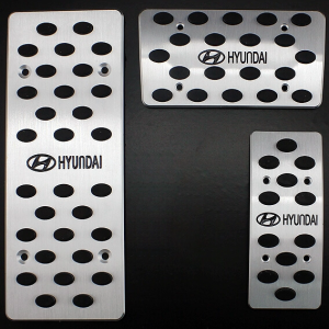 Накладки на педали Hyundai Solaris (автомат ST-079)