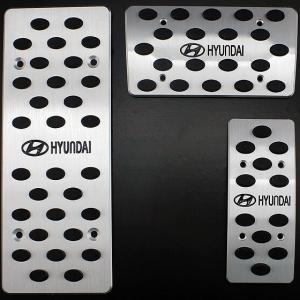 Накладки на педали Hyundai Tucson (автомат ST-079)
