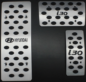 Накладки на педали Hyundai I30 (Автомат ST-087)