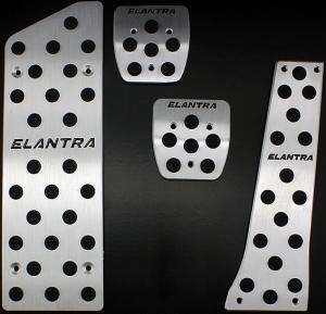 Накладки на педали Hyundai Elantra 2013 (Механика ST-086)