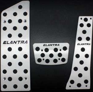 Накладки на педали Hyundai Elantra 2013 (Автомат ST-085)