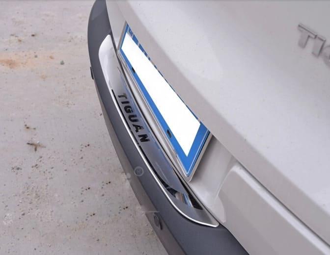 Накладка на бампер Volkswagen Tiguan (2007-2015)