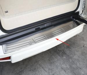 Накладка на бампер Toyota Prado 150