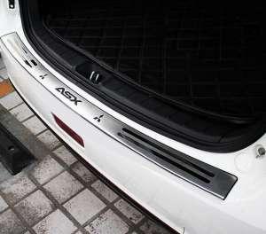 Накладка на бампер Mitsubishi ASX (2010 - 2013)
