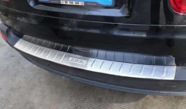 Накладка на бампер BMW X5 (2006-2013)