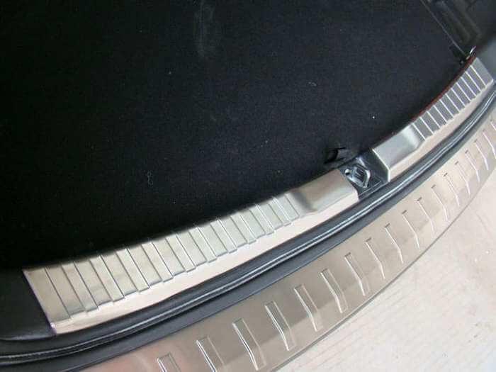 Накладка на бампер (внутренняя) Honda CR-V 4