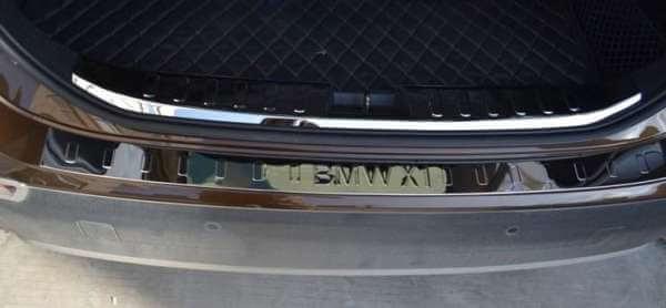 Накладка на бампер BMW X1 E84