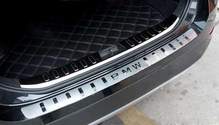 Накладка на бампер BMW X5 (2013+)