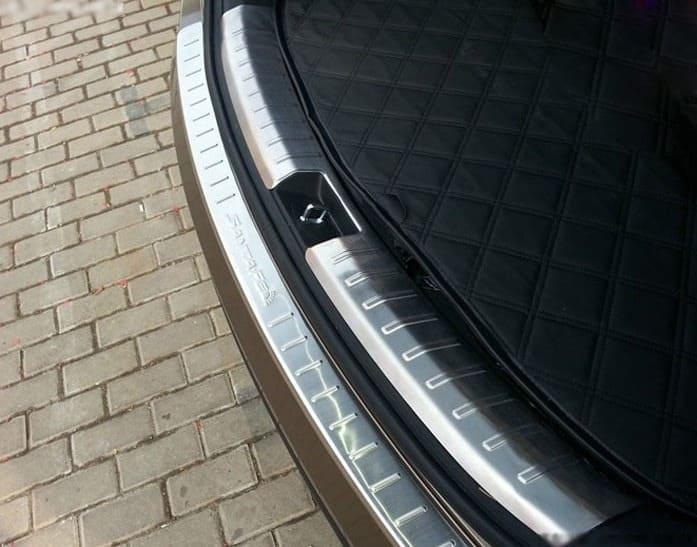 Накладка на бампер (внутренняя) Hyundai Santa Fe 3