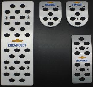 Накладки на педали Chevrolet Cruze (Механика ST-089)