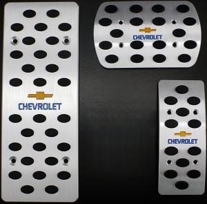 Накладки на педали Chevrolet Cruze (Автомат ST-090)