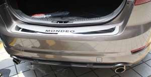 Накладка на бампер Ford Mondeo 4 (2010-2014)