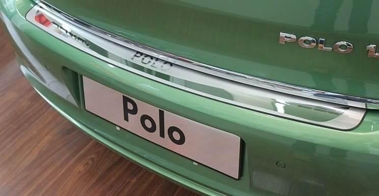 Накладка на бампер Volkswagen Polo 5 (hatchback), фото 2