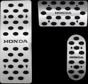 Накладки на педали Honda Fit (автомат ST-055)