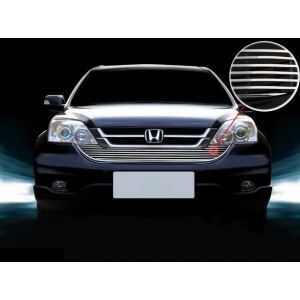 Хромированная решетка радиатора Honda CR-V (2010-2012)