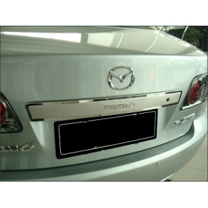 Молдинг на багажник (верхний) Mazda 6 (2005-2007)