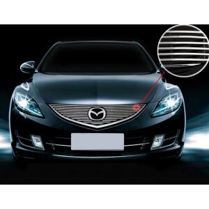 Хромированная решетка радиатора Mazda 6 (2007-2010)