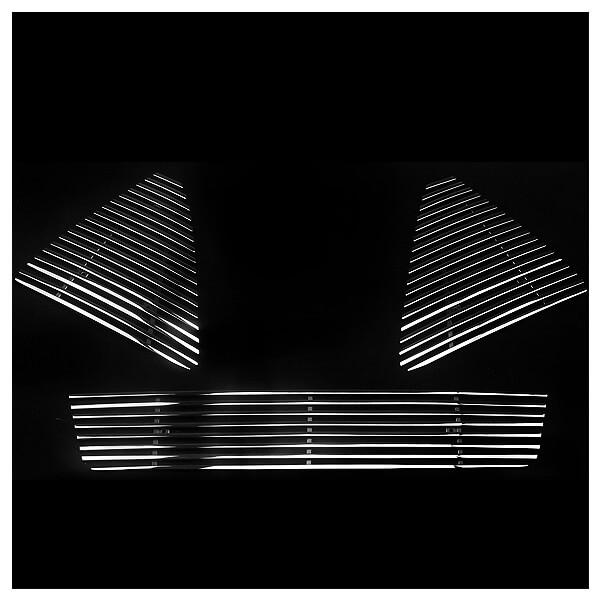 Хромированная решетка радиатора Ford Focus 3 (2011- 2015), фото 2