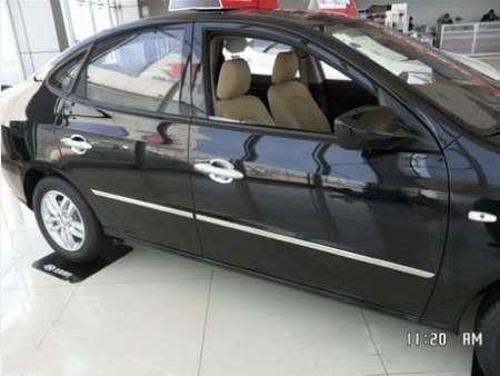 Молдинги на двери Hyundai Elantra (2006-2010)