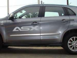 Молдинги на двери Mitsubishi ASX
