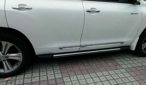 Молдинги на двери Toyota Highlander (2007-2010)