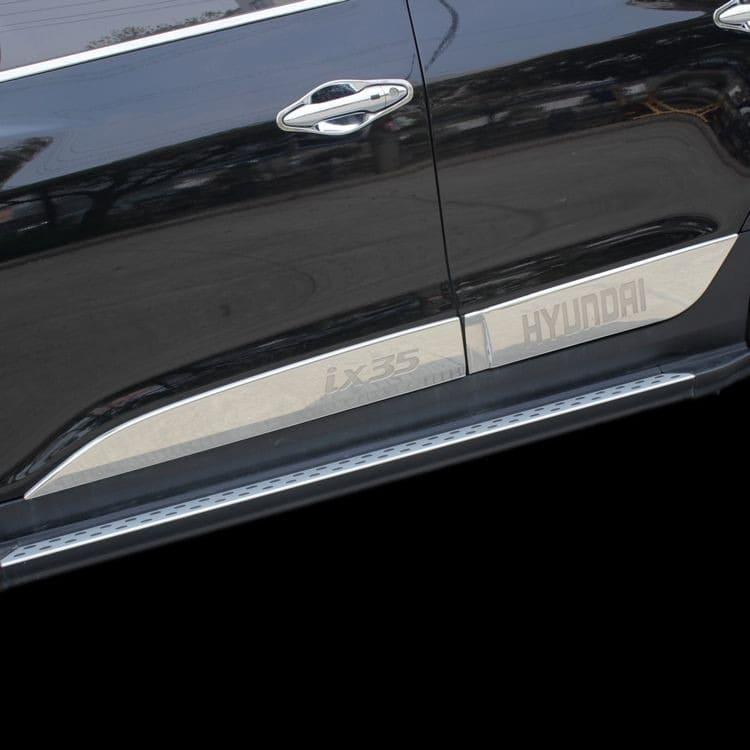 Молдинги на двери Hyundai ix35