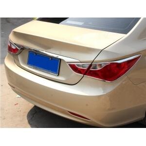 Хромированные накладки на задние фары Hyundai Sonata (2010-2014)