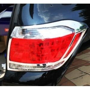 Хромированные накладки на задние фары Toyota Highlander (2010-2014)