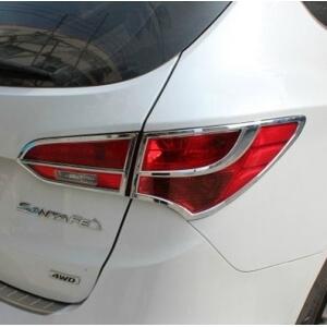 Хромированные накладки на задние фары Hyundai Santa Fe