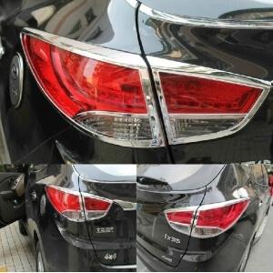 Хромированные накладки на задние фары Hyundai IX35 (2010-2013)
