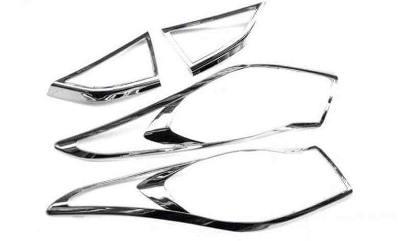 Хромированные накладки на задние фары Hyundai Elantra, фото 2