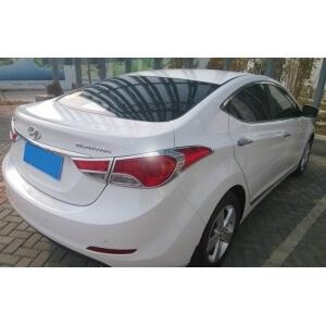 Хромированные накладки на задние фары Hyundai Elantra