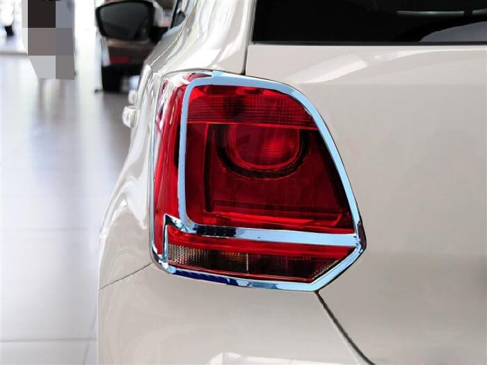 Хромированные накладки на задние фары Volkswagen Polo хэтчбек
