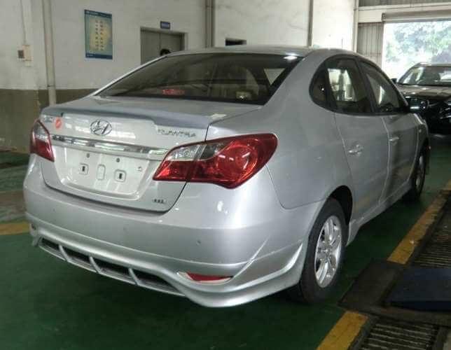 Обвес Hyundai Elantra