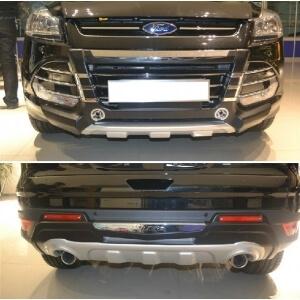 Защитная накладка бампера Ford Kuga (2013-2015)