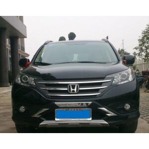 Защитная накладка бампера Honda CR-V (2012-2015)