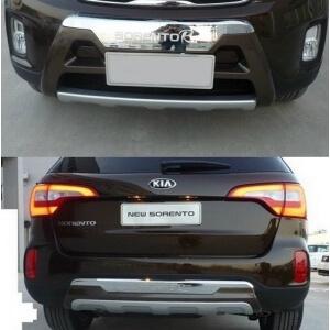 Защитная накладка бампера Kia Sorento II 2012+