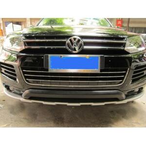 Защитная накладка бампера Volkswagen Touareg (2010-2014)