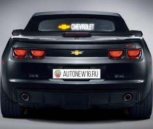 Неоновая наклейка Chevrolet