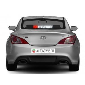 Неоновая наклейка Hyundai