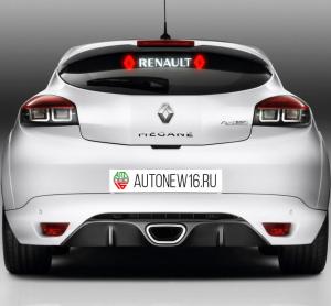Неоновая наклейка Renault