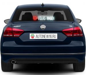 Неоновая наклейка Volkswagen
