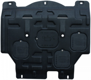 Защита двигателя Peugeot 3008 2013