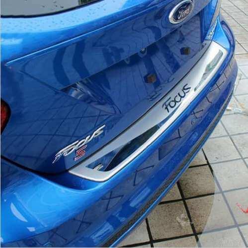 Накладка на бампер Ford Focus 3 седан