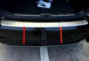 Накладка на бампер BMW X6 E71