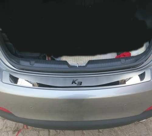 Накладка на бампер Kia Cerato 2004-2013