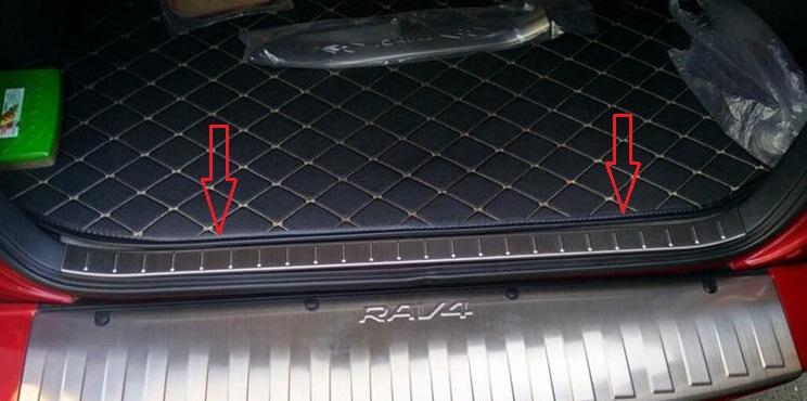 Накладка на бампер (внутренняя) Toyota Rav4 CA30