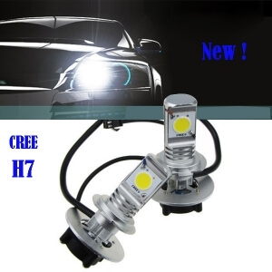 Блок диодного свет фар (цоколь H7)