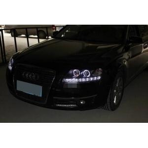 Тюнингованные фары Audi A6 2005-2008