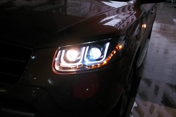 Тюнингованные фары Hyundai Santa Fe (2006-2012) , фото 2